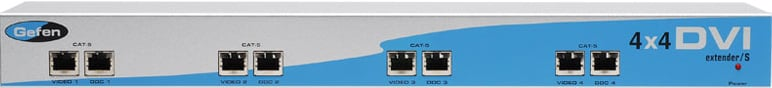 Gefen Inc EXT-DVI-CAT5-4X 4x4 DVI CAT5 Extender EXT-DVI-CAT5-4X