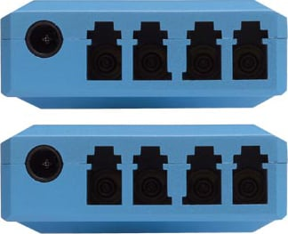 DVI Extender Via Fiber Optics