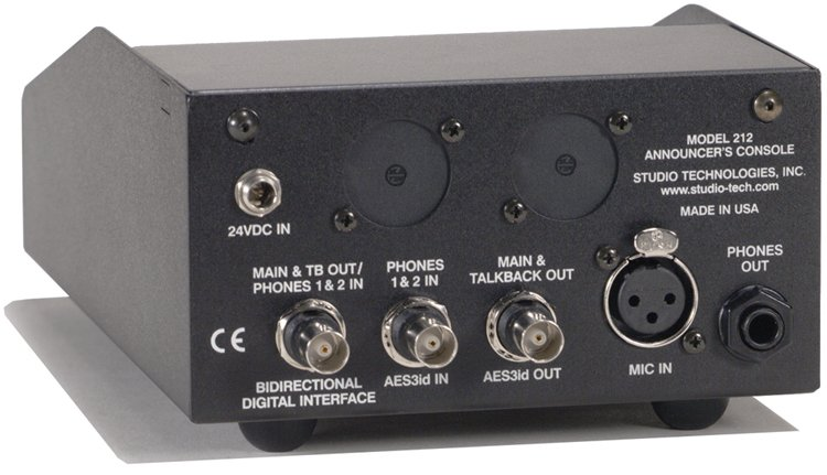 Studio Technologies MODEL-212 Announcers Console MODEL-212