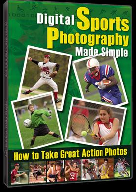 Vortex Media DSPMS  Digital Sports Photography Made Simple DVD DSPMS