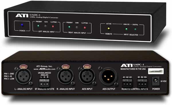 A/D Audio Converter, Includes External Power Supply