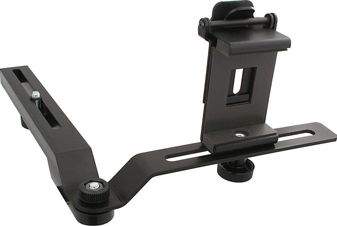 TelePrompTer Mount for iPhone, iPod Touch, Small LCD Screens