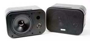 TeachLogic WM-2 2 Speakers and Wall Mount/Book Shelf Brackets, Cables WM-2