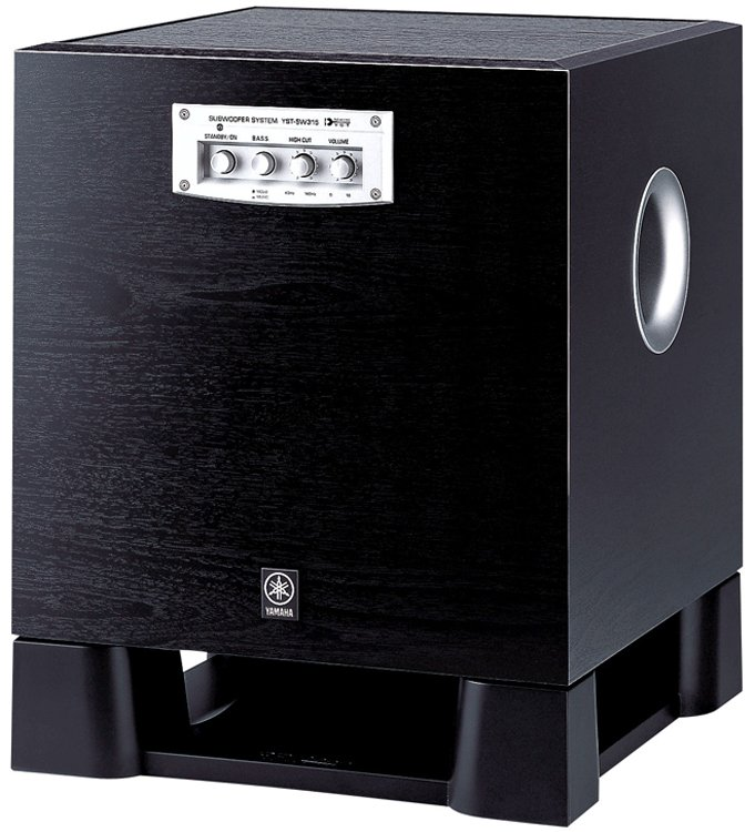 250W Powered Subwoofer