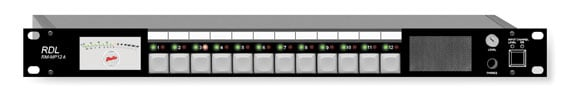Audio Monitor Panel, 12 Line or Speaker Inputs