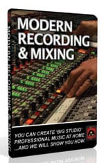 Modern Recording and Mixing Training DVD-ROM