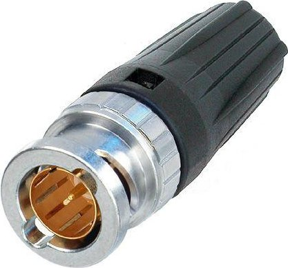Rear Twist Tiny Cable Jack BNC Connector (O.D. <4mm)