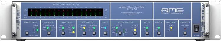 RME M16AD Converter Analog to MADI/ADAT M16AD