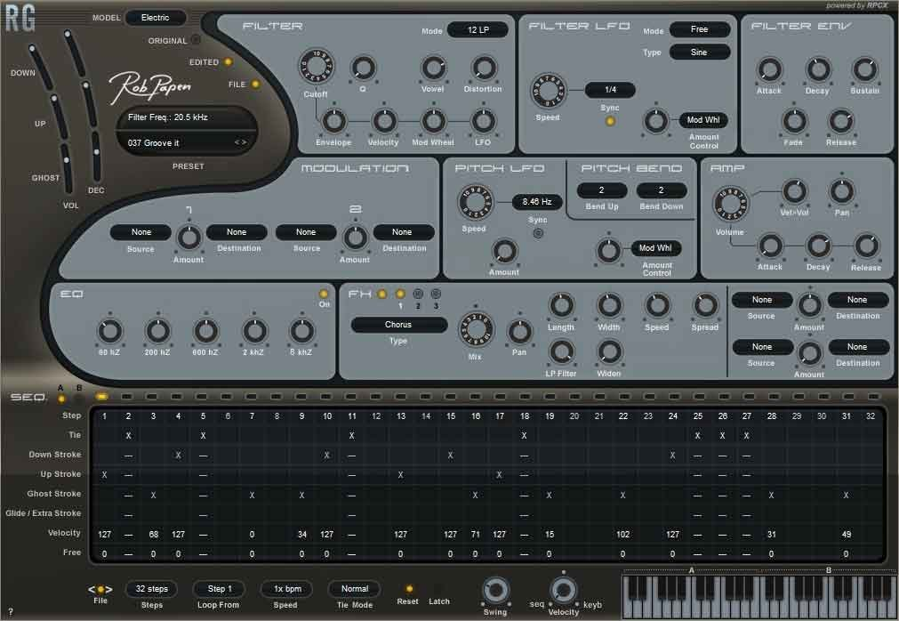 Rob Papen Rythm Guitar Synth (Electronic Delivery)