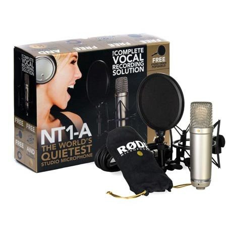 Complete Recording Bundle with NT1-A Studio Microphone & Accessories