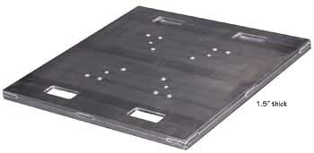 "Show Solutions Inc PB-H1200 30""x30"" Heavy Duty Base Plate PB-H1200"