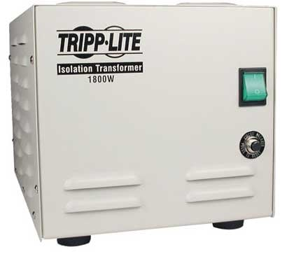 Isolation Transformer, Medical Grade, 1800 watts,  6 Out
