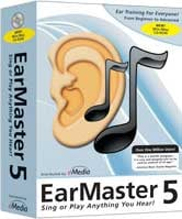 Ear Training Software, 5 User Lab Pack, Win/Mac CD-ROM