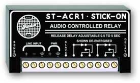 Audio-Controlled Mic Level Relay