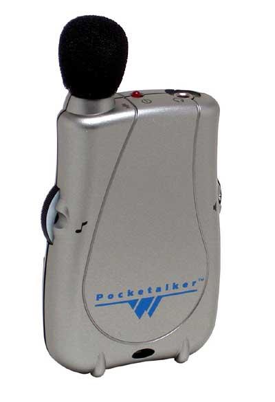 Pocket Talker System no Earphones