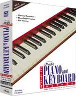 Intermediate Piano & Keyboard Method Software, Educational Edition, Win/Mac CD-ROM