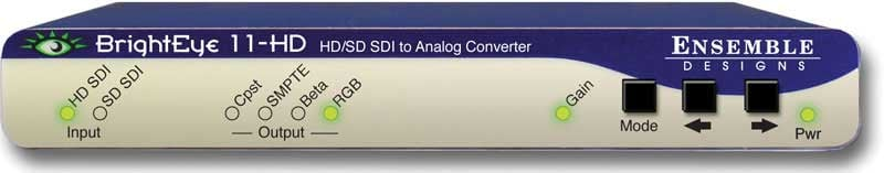 HD/SD SDI to Analog Converter