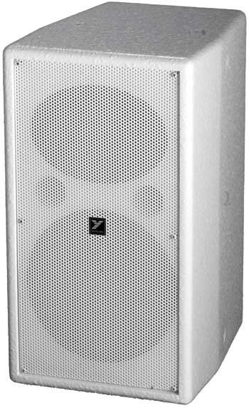 "Yorkville C190W Coliseum Mini-Speaker, 8"" woofer, 150 Watts at 8 Ohms, White C190W"