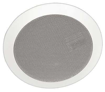 Ceiling Speaker, 30 Watts @ 8 Ohms/70V, White