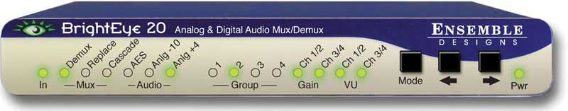 Analog & Digital Audio Embedder or Disembedder