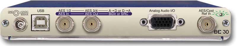 Audio ADC/DAC, Bi-Directional