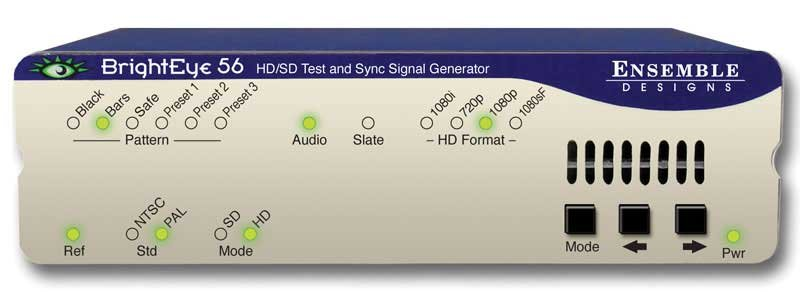HD/SD/Analog Test Signal and Sync Pulse Generator