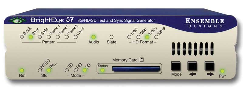 3G/HD/SD/Analog Test Signal and Sync Pulse Generator
