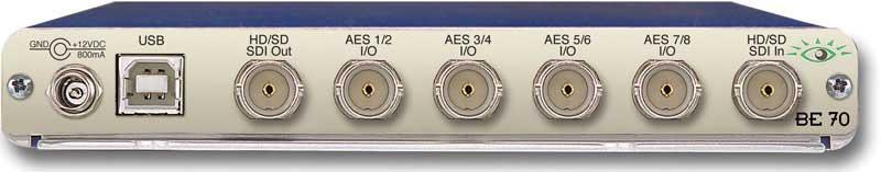 HD/SD AES Embedder/Disembedder