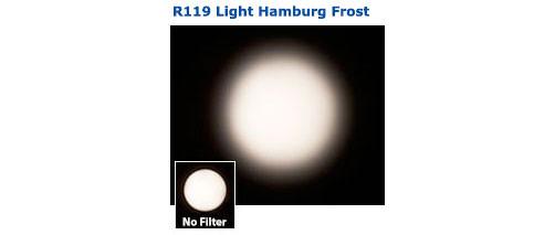 "Rosco Laboratories R119 24"" x 25 ft Roll of Roscolux Light Hamburg Frost 119-ROLL"