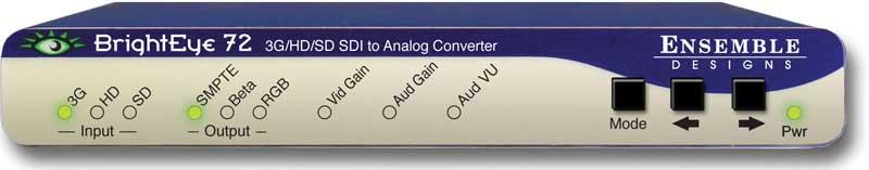 BrightEye SDI to HDMI Converter, Color Corrector, and Broadcast Confidence Monitor