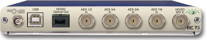 Ensemble Designs BE-73  HD/SD AES Embedder with Optical Out BE-73