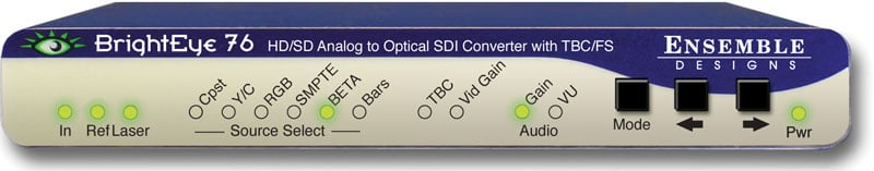 HD Analog to Digital Video Converter with Optical Out