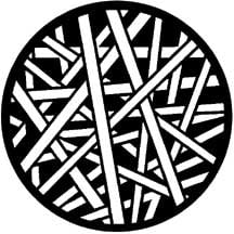 Gobo Cross Stripes