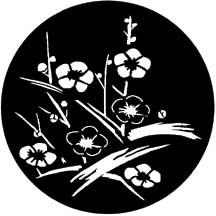 Gobo Japanese Flowers