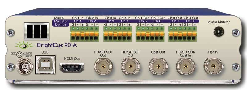 HD Up/Down Cross Converter and ARC with Analog Audio