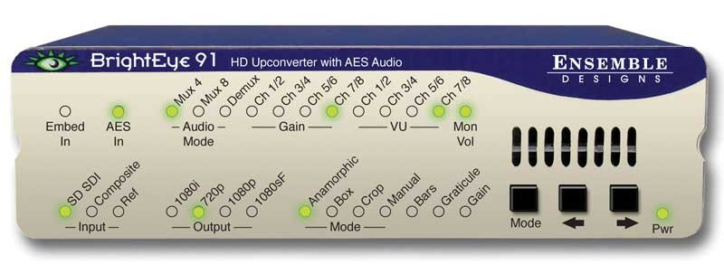 HD Upconverter with AES Audio