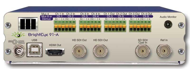 HD Upconverter with Analog Audio