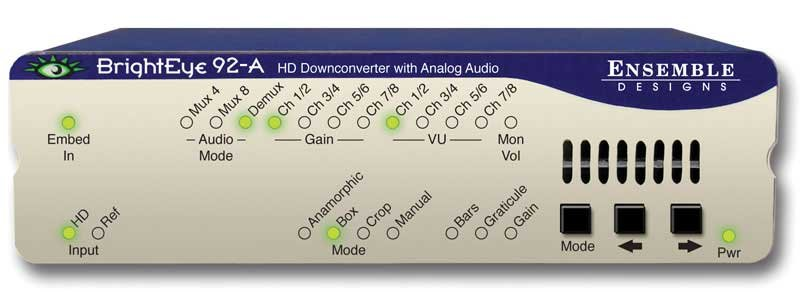 HD Downconverter with Analog Audio