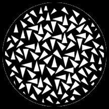 Gobo Triangles Small