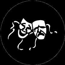 Rosco Laboratories 77936 Gobo Comedy/Tragedy 77936
