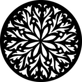 Rose Circle Gobo