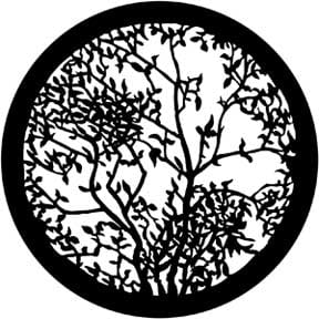 Gobo, Leafy Branches 2