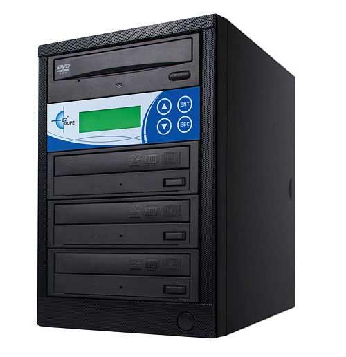 Disk-Lok 3 Target DVD/CD Duplicator, Copy Protected, Black
