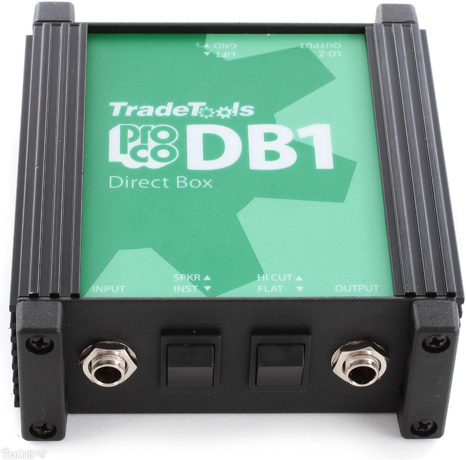 Pro Co DB1 Professional Passive Direct Box DB1-PROCO