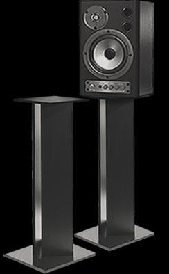 """Speaker Pedestal, 36""""H, Pair"""