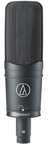 Audio-Technica AT4050ST Stereo Condenser Side Address Microphone with 5-Pin XLR-M AT4050ST