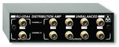 Radio Design Labs RU-UDA4 Unbalanced Audio Distribution Amplifier RUUDA4