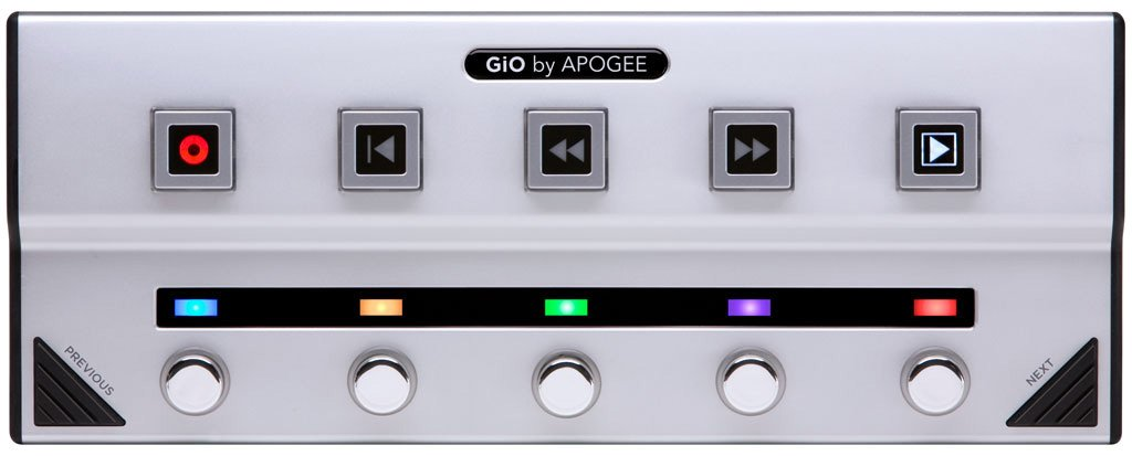 Audio Interface USB FloorPedal for Logic Studio 9 , Main Stage 2, GarageBand '09