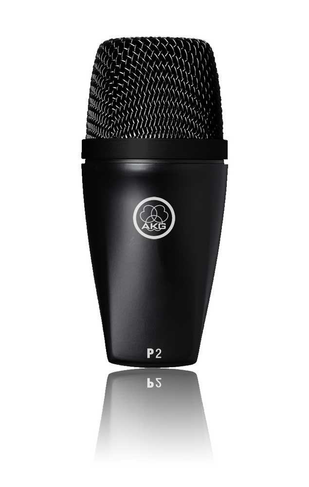 AKG P2 Microphone, Dynamic, Cardioid, for low-pitched instruments P2-AKG