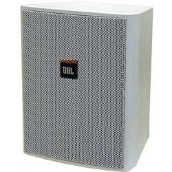 2 Way Compact Shielded Loudspeaker in White for Life & Safety Applications